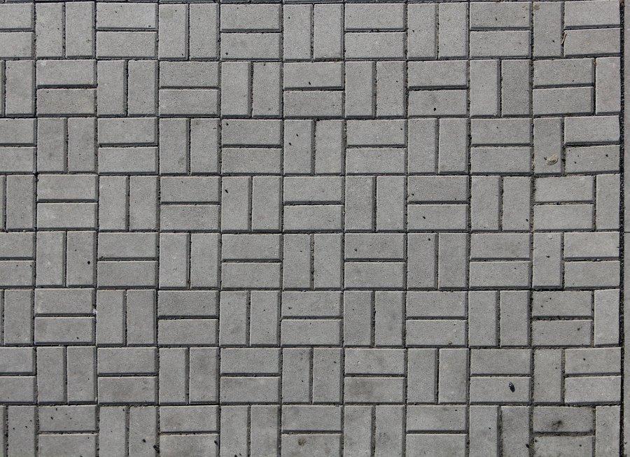Zámková dlažba textura